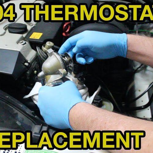 วาวล์น้ำ W124 W140 W210 W202 # M104 Engine